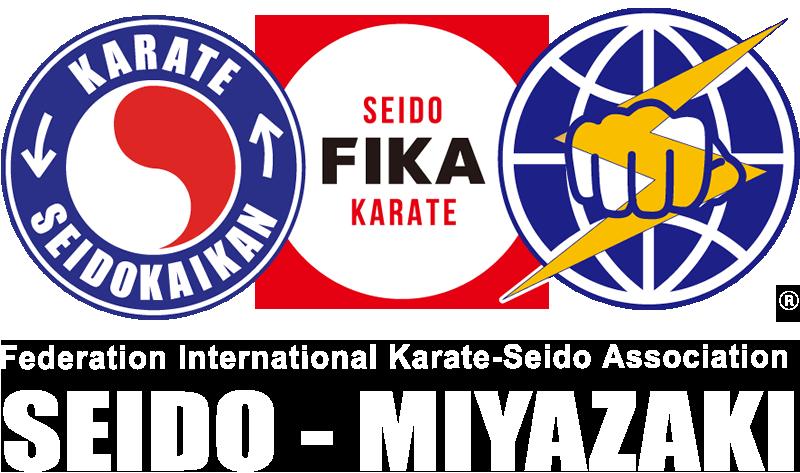 新日本空手道連盟 正道会館 国際正道 空手連盟 FIKA ロゴ画像